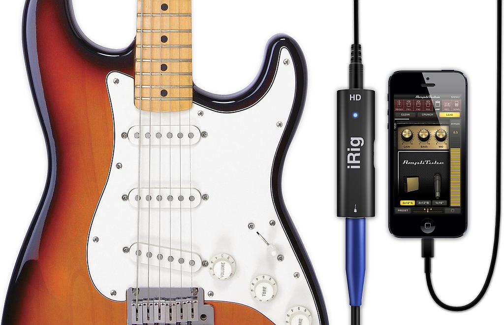 IK Multimedia iRig HD digitális gitár interfész iOS/Mac/PC támogatással