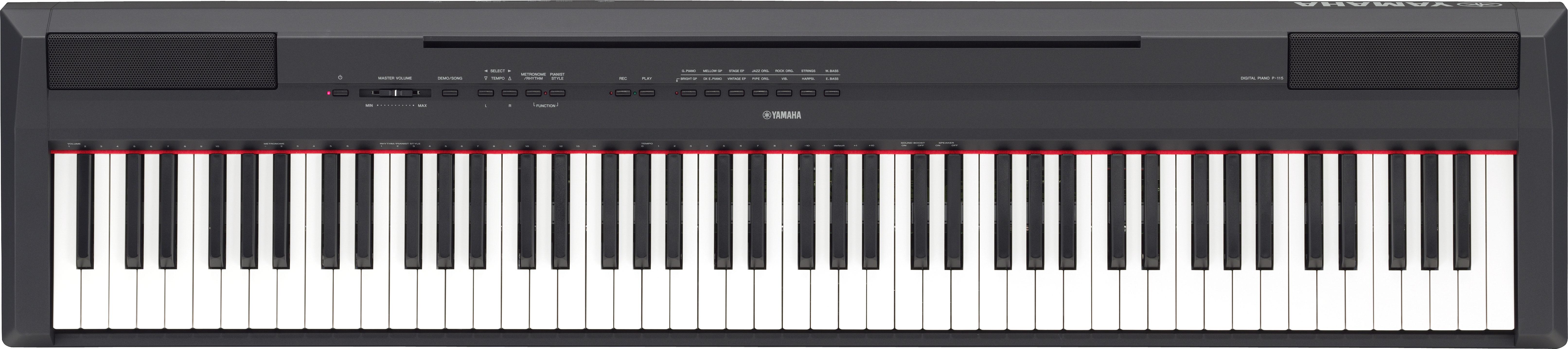 Yamaha P-115B digitális színpadi zongora