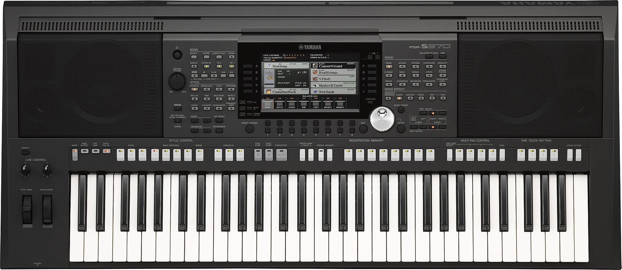 Yamaha PSR-S970 kíséretautomatikás szintetizátor