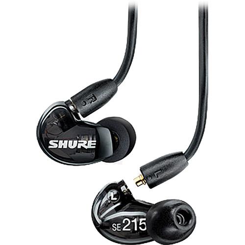 Shure SE215 K izolációs fülhallgató