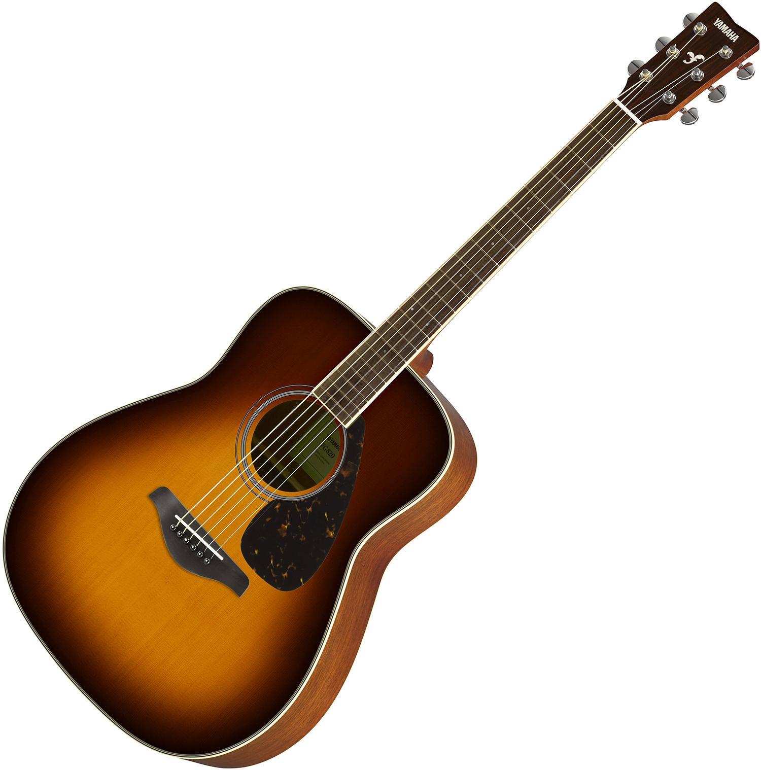 Yamaha FG820 Brown Sunburst akusztikus gitár