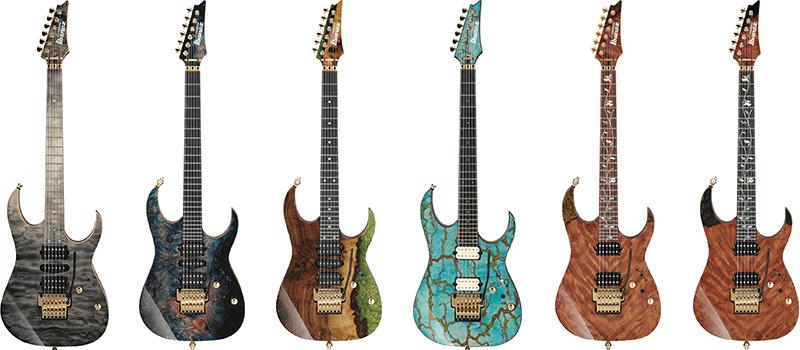 Limitált j.custom gitárok