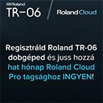 TR-06 + Roland Cloud különleges ajánlat