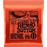 Ernie Ball 2215 Nickel Wound Skinny Top Heavy Bottom Slinky 10-52 elektromos gitárhúr