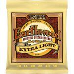 Ernie Ball 2006 Earthwood Bronze Extra Light 10-50 akusztikus gitárhúr