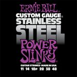 Ernie Ball 2245 Stainless Steel Power Slinky 11-48 elektromos gitárhúr