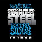 Ernie Ball 2249 Stainless Steel Extra Slinky 8-38 elektromos gitárhúr