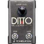 TC Helicon Ditto Mic Looper ének/akusztikus hangszer looper effektpedál