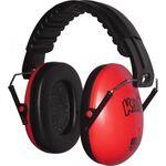 Edz Kidz gyermek hallásvédő/fülvédő tok piros színben