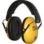 Edz Kidz gyermek hallásvédő/fülvédő tok sárga színben
