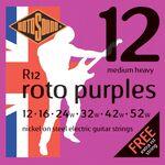 Rotosound R12 roto purples 12-52 elektromos gitárhúr