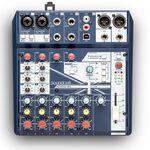 Soundcraft Notepad-8FX analóg keverő/USB hangkártya
