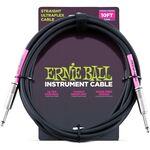 Ernie Ball Ultraflex Black 3m gitárkábel