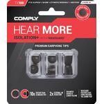 Comply Isolation+ TX-100 memóriahab fülilleszték ASST