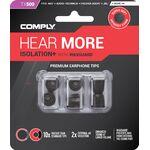 Comply Isolation+ TX-500 memóriahab fülilleszték L