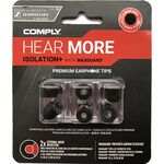 Comply TX-167 Sennheiser Edition memóriahab fülilleszték méretsor fekete