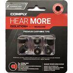 Comply TX-167 Sennheiser Edition memóriahab fülilleszték L fekete