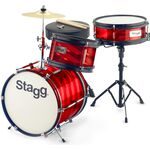 Stagg TIM JR 3/12B RD akusztikus dobszett