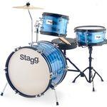Stagg TIM JR 3/16B BL akusztikus dobszett