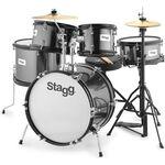 Stagg TIM JR 5/16B BK akusztikus dobszett