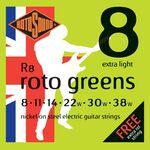 Rotosound R8 roto greens 08-38 elektromos gitárhúr