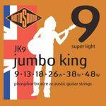 Rotosound JK9 Phosphor Bronze Super Light 9-48 akusztikus gitárhúr