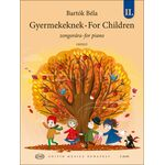 Bartók Béla: Gyermekeknek II. - kotta