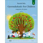 Bartók Béla: Gyermekeknek I. - kotta