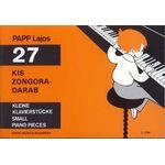 Papp Lajos: 27 kis zongoradarab - kotta