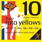 Rotosound R10-7 roto yellows 10-56 elektromos gitárhúr