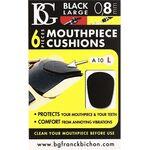 BG A10L fekete 0,8mm fogvédő gumi