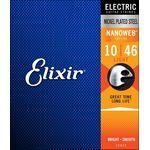 Elixir 12052 NanoWeb 10-46 Light elektromos gitárhúr