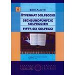 Ötvenhat solfeggio (Angelo Michele Bertalotti) - kotta