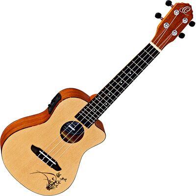 Ortega RU5CE elektro-akusztikus koncert ukulele