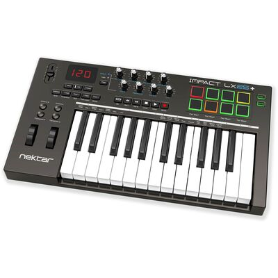 Nektar Impact LX25+ USB MIDI kontroller billentyűzet