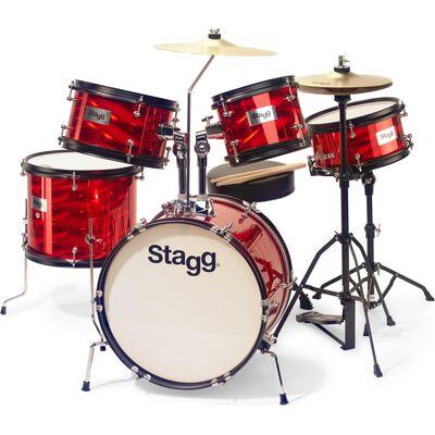 Stagg TIM JR 5/16B RD akusztikus dobszett