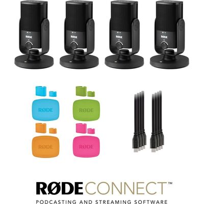 RODE NT-USB Mini USB-C podcast szett 4