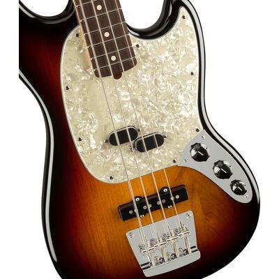 Fender American Performer Mustang Bass RW 3-Color Sunburst elektromos basszusgitár