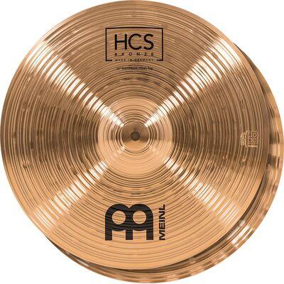 "Meinl HCS Bronze 14"" Soundwae Hihat lábcin HCSB14SWH"
