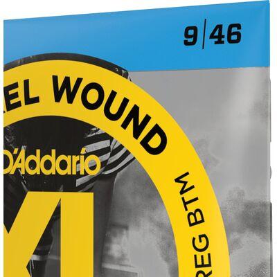 D'Addario EXL125 Nickel Wound 9-46 elektromos gitárhúr